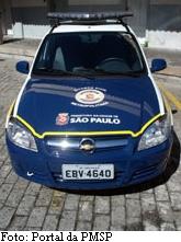 Viatura da GCM de São Paulo