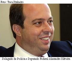 Delegado de Polícia e Deputado Federal Alexandre Silveira