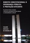 Direito Constitucional a Seguranca Publica e Protecao Eficiente mini