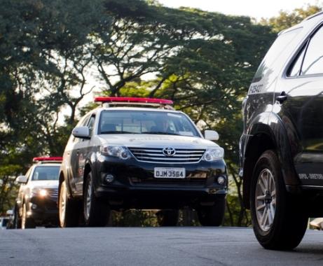 Polícia Civil de SP recebe novas viaturas Toyota Hilux
