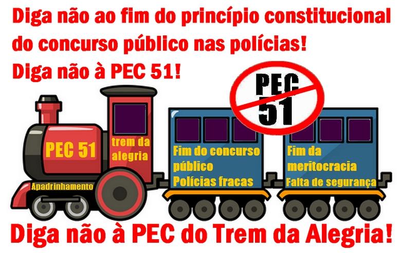 PEC 51 - Diga não