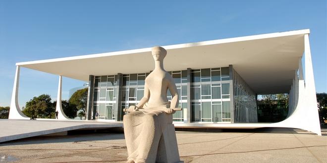 Edificio sede do STF